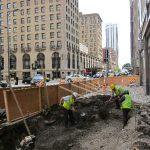 900 North Michigan Avenue Installation Underway