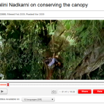 TED Talk on Canopy Conservation