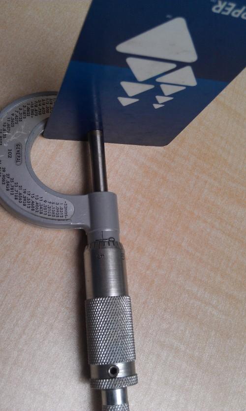 Manual micrometer