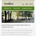 DeepRoot's New Mobile Site is UP!