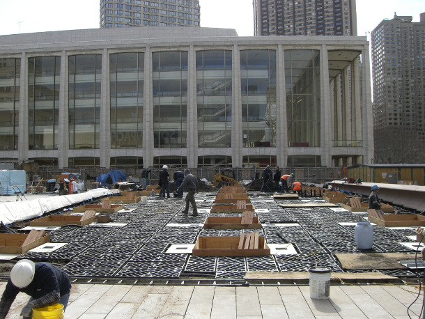 Lincoln Center Silva Cell installation (2008)