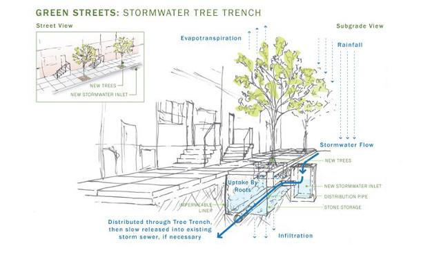 Philadelphia S Complete Streets Handbook Stronger Treatment Of Green Infrastructure Needed