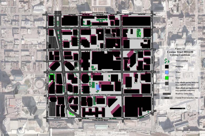 Downtown Toronto: existing design