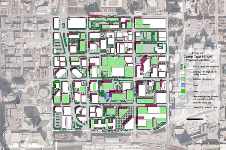 Downtown Toronto: proposed design
