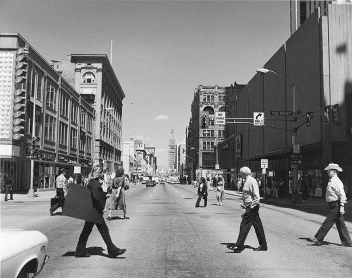 16th Street Mall in 1979. Photo credit: Denver Public Library Western History Department