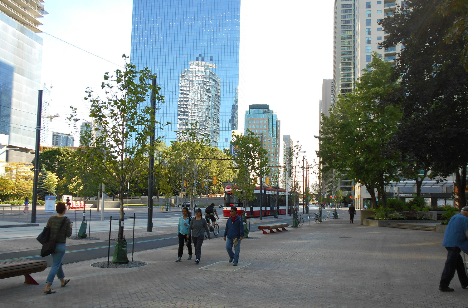 Queens Quay finished