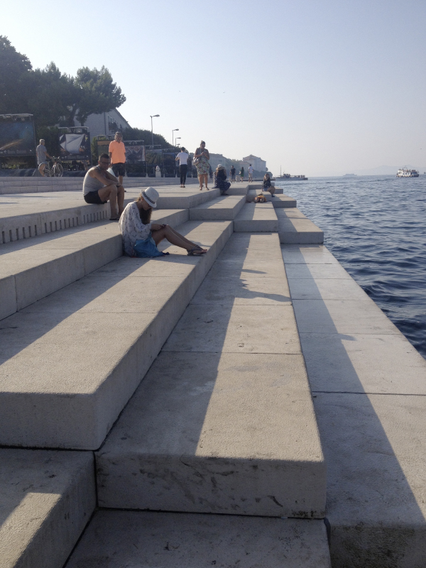 Zadar Sea Organ. Image credit: Derek Robinson