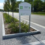 Stormwater management in the median Silva Cell case study