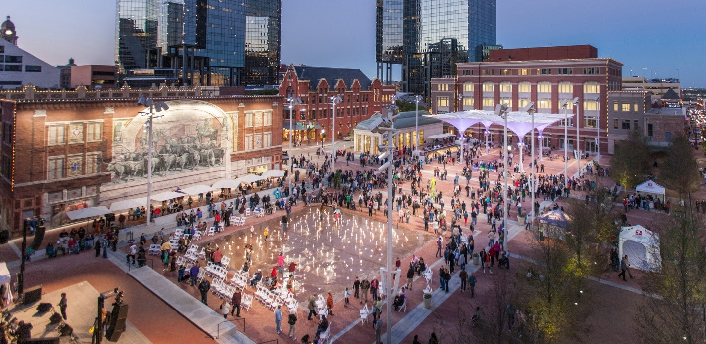 Silva Cell ASLA Award Winning Project – Sundance Square