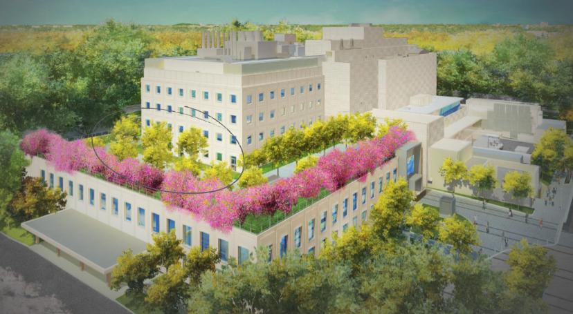 Childrens National Hospital rendering courtesy of Elkus Manfredi